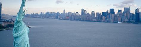 New York, Statue of Liberty Photographic Print