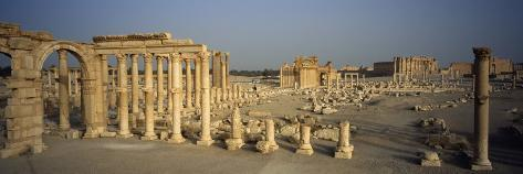 Old Ruins of Temple of Bel, Palmyra, Syria Photographic Print