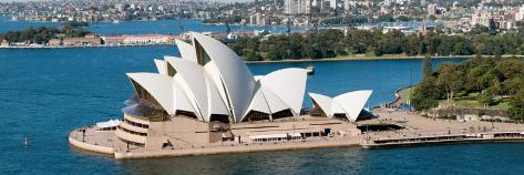 Opera House at Waterfront, Sydney Opera House, Sydney Harbor, Sydney, New South Wales, Australia Photographic Print
