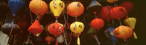 Paper Lanterns, Hoi An, Vietnam Photographic Print