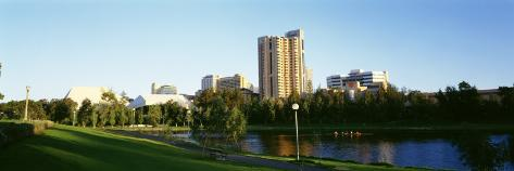 Park in the City, Adelaide, Australia Photographic Print