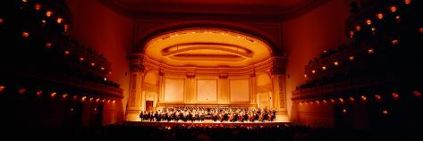 Performers On a Stage, Carnegie Hall, New York City Wall Decal