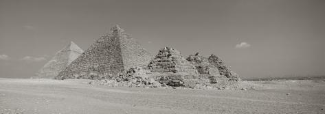 Pyramids of Giza, Egypt Photographic Print