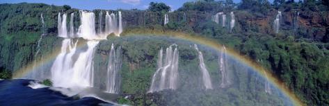 Rainbow, Iguacu Falls, Iguacu National Park, Brazil Photographic Print