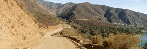 Road on the Mountains, Baja California, Mexico Photographic Print