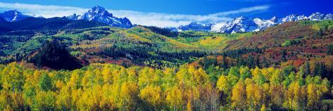 San Juan Mountains, Colorado, USA Photographic Print