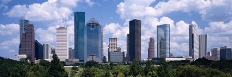Skyscrapers in Houston, Texas, USA Photographic Print