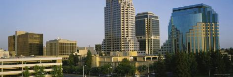 Skyscrapers in Sacramento, California, USA Photographic Print