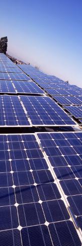 Solar Panels on a Brewery Rooftop, Freiburg Im Breisgau, Baden-Wurttemberg, Germany Photographic Print