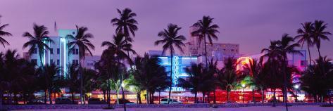 South Beach, Miami Beach, Florida, USA Photographic Print