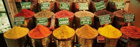Spice Market Istanbul Turkey Photographic Print