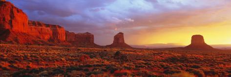 Sunrise, Monument Valley, Arizona, USA Photographic Print