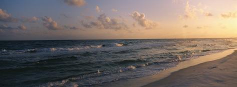 Sunset, Pensacola Beach, Florida, USA Photographic Print