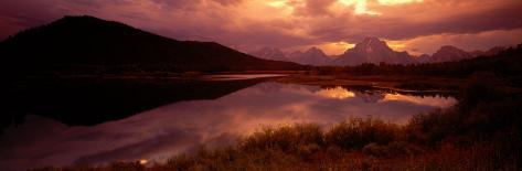 Teton Range, Mountains, Grand Teton National Park, Wyoming, USA Photographic Print