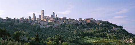 Towers of San Gimignano, Medieval Town, Tuscany, Italy Photographic Print
