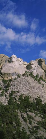 US Presidents Carved on Mt Rushmore National Monument, South Dakota, USA Photographic Print