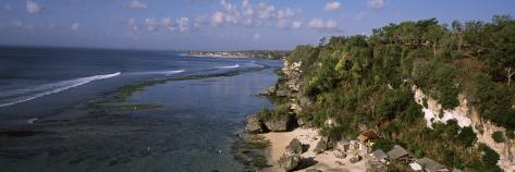 View of a Beach, Padang Padang Beach, Padang Padang, Bali, Indonesia Photographic Print