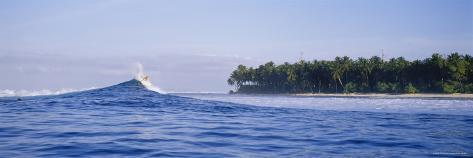 Waves in the Sea, North Sumatra, Indonesia Photographic Print