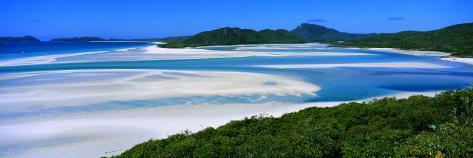 Whitehaven Beach, Eastern, Australia Photographic Print