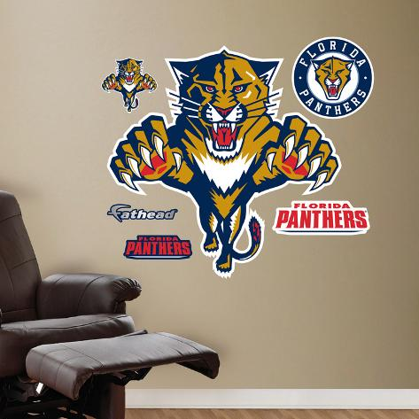 Panthers 2011-2012 Logo Wall Decal