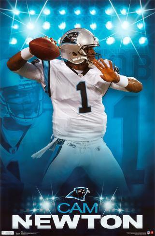 Panthers - C Newton 2011 Poster
