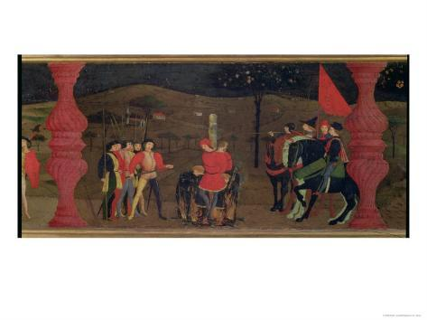 Jewish Pawnbroker and Family Burned at the Stake For Roasting the Consecrated Host, c.1468 Giclee Print