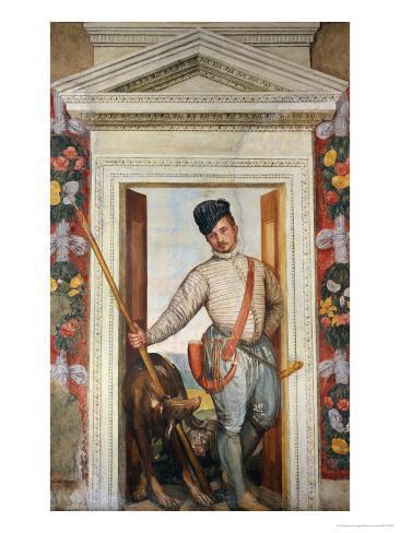 Presumed Self-Portrait Dressed as a Hunter Giclee Print