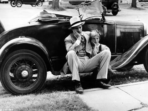 Paper Moon, Ryan O'Neal, Tatum O'Neal, 1973 Photo