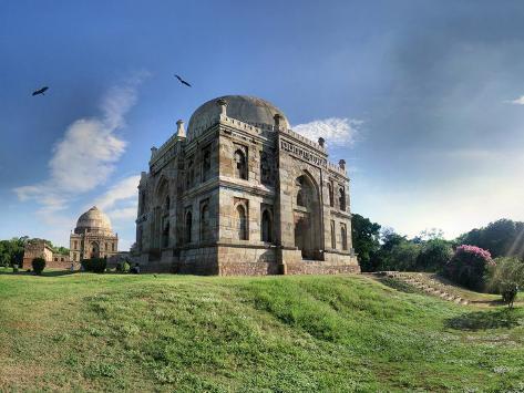 Delhi - Lodhi Gardens Tombs Photographic Print