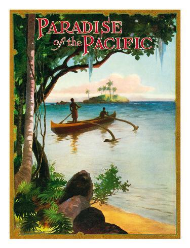 Paradise of the Pacific Magazine, Hawaii c.1930s Giclee Print