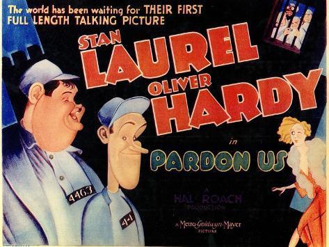 Pardon Us, 1931 Art Print