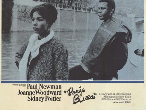 Paris Blues, 1961 Konstprint