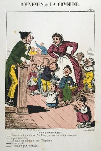 Paris Commune, 1871 Giclee Print