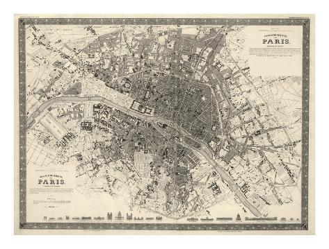 Paris, France, c.1860 Art Print