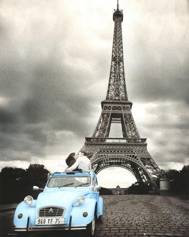 Paris Romance Mini Poster
