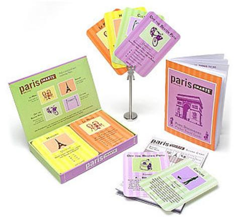 Paris Smarts Question and Answer Cards Game Game