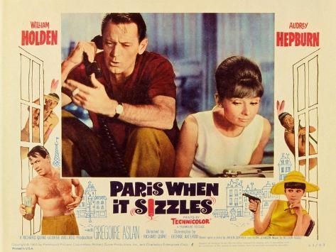 Paris When It Sizzles, 1964 Premium Giclee Print