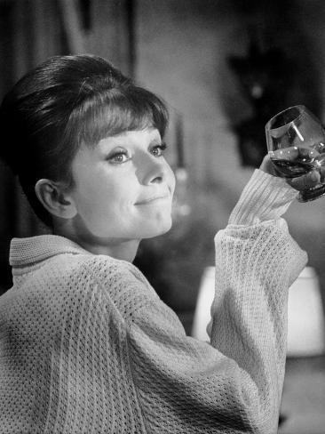 Paris When it Sizzles, Audrey Hepburn, 1964 Fotografía