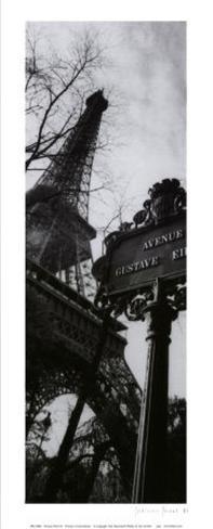 Parisian Panel III Art Print