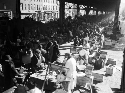 Park Avenue Market, New York, New York Photographic Print