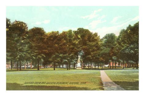 Park, Guilford, Connecticut Art Print