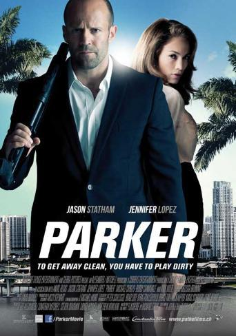 Parker (Jason Statham, Jennifer Lopez, Michael Chiklis) Movie Poster マスタープリント
