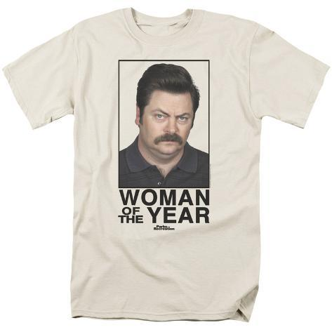 Parks & Rec-Woman Of The Year T-Shirt