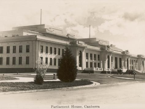 Parliament House, Canberra, Act, Australia Photographic Print