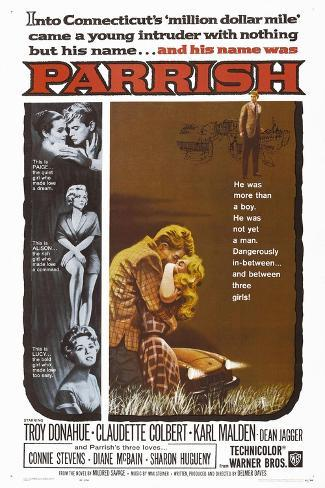 Parrish, 1961, Directed by Delmer Daves Giclee Print