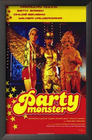 Party Monster Framed Art Print