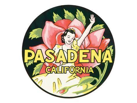 Pasadena, California Premium Giclee Print