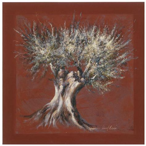 Olivier Fond Rouge Art Print