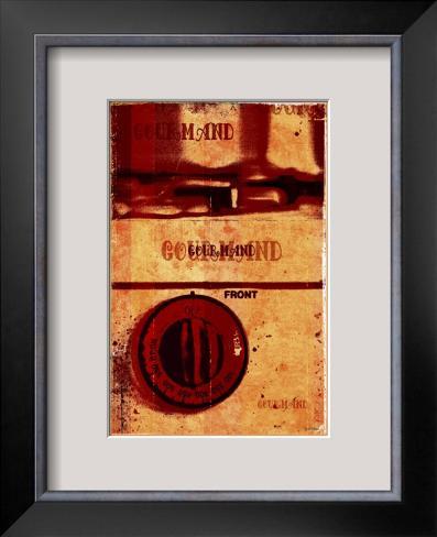Gourmand - Front III Framed Giclee Print