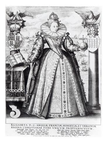 Queen Elizabeth I Stretched Canvas Print